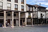 Covarrubias, Burgos province, Spain.