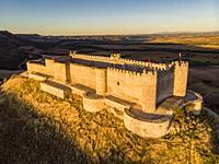 Castillo del Cid, Jadraque, Guadalajara province, Spain.