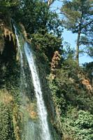 Waterfall. Country: France, Region: Provence, City: Sillans.