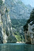 Gorges du Verdon. Country: France, Region: Le Var.