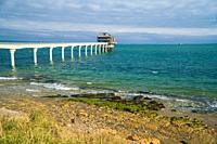 Bembridge RNLI lifeboat station, Isle of Wight UK. October 2020.