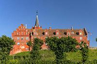 Schloss Tranekaer, Insel Langeland, Dänemark, Europa   Tranekaer Castle, Langeland island, Denmark, Europe.