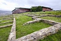Cantabrian-Roman Archaeological Site of Camesa-Rebolledo, Cantabria, Spain.