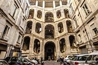 San Felice or Sanfelice Palace, Palazzo San Felice, Via Sanità, Rione Sanità, central Naples, Naples city, Campania, Italy, Europe.