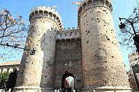 Valencia, Torres de Quart (15th century). Comunidad Valenciana, Spain.