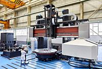 Construction of machine tools, machining centre, CNC, Vertical turning and Milling lathe, Metal industry, Gipuzkoa, Basque Country, Spain, Europe.