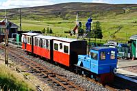 Miniature railway at Leadhills in South Lanarkshire, Scotland.