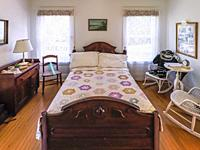 Interio of the Morning Glories Cottage in the Sanibel Historical Museum and Village on Sanibel Island on the southwest coast of Florida in the Unted S...