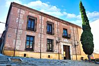 The Palace of Cotilla. The17th century. Guadalajara city, Spain