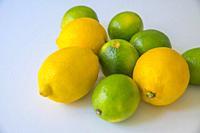 Lemons and limes.