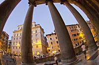 Agrippa's Pantheon, Piazza della Rotonda, Santa María Rotonda, Rome, Lazio, Italy, Europe.