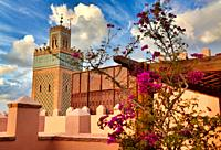 Mosquée Moulay Al Yazid, Saadian Tombs, Medina de Marrakech, Morocco