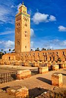 Koutoubia Mosque. Marrakech. Morocco