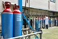 Gas cylinders, Technology Centre