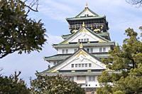 View on Osaka Castle, Osaka, Japan