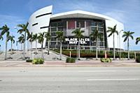American Airlines Arena in downtown, Florida, USA