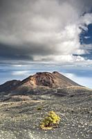 Volcano Teneguia, La Palma, Canary islands, Spain