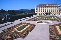 Austria, Vienna, Schonbrunn Palace, Garden. . .