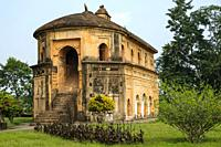 Sivasagar, India - November 2020: The Rang Ghar the royal sports-pavilion where Ahom kings and nobles were spectators at games on November 22, 2020 in...