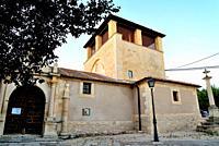 Church of San Miguel in San Miguel de Bernuy, Segovia, Spain.