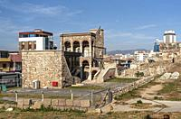 The ancient city of Smyrna Agora is known as the place where art was very intense and philosophy first emerged.