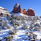 Sedona winter, Arizona, USA.