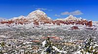 Winter in Sedona, Arizona, USA.