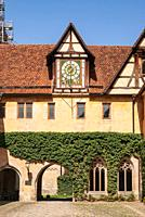 Impressions of the village and the palace and monastery complex of Bebenhausen near Tübingen, Baden-Württemberg, Germany, beautiful historical archite...