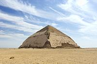 Bent pyramid, Dahshur, Egypt.