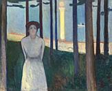 Summer Night's Dream, The Voice, Edvard Munch, 1893,.