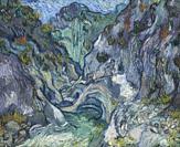 Ravine, Vincent van Gogh, 1889,.