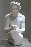 Figure of Beethoven, Max Klinger, after 1902,.