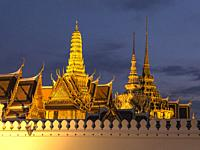 The Grand Palace is a complex of buildings at the heart of Bangkok, Thailand. The palace has been the official residence of the Kings of Siam (and lat...