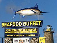 Florida Keys Restaurant. Islamorada . Florida. USA.