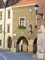 Sopron in Transdanubia in the west of Hungary close to the border with Austria. Europe, Eastern Europe, Hungary.