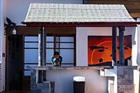 Korean style home, San Luis Potosi, Mexico.