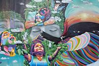 Wynwood.Neighborhood in Miami, Florida.Known for its many colorful murals, Wynwood is one of the city's most happening districts. Wynwood Walls is an ...