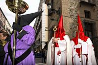Procession of the Virgin of the Loneliness on Holy Saturday of Holy Week,MADRID, SPAIN, EUROPE.