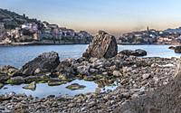 Turkey's very charming fishing town of Amasra.