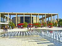 Los Angeles Music Center Plaza.