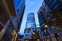 Iberdrola Tower, Bilbao, Bizkaia, Basque Country, Spain, Europe.