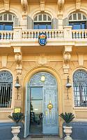 Danish consulate building on the Corniche in Alexandria, Egypt.