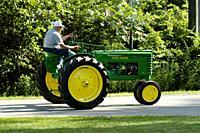 John Deer Farm Tractor.