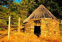 Rustic shack close to La Hiruela, Madrid, Spain