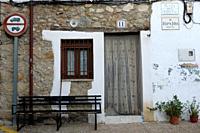 A house of the Jewish quarter in Candeleda, Ã. vila.