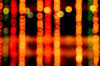Abstract Light Bokeh Background. Defocused light dots abstract background.