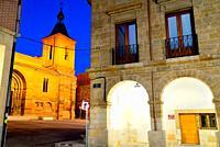 Church of San Juan del Mercado in Benavente, Zamora, Spain.