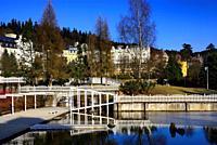 Spa resort Marianske Lazne - Marienbad, West Bohemia, Czech Republic, Europe