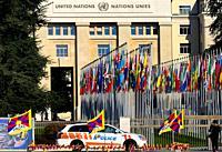 Palace of Nations, Geneva, Switzerland, Europe