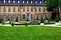 Neues Schloss - New Palace historic part of Bayreuth, Upper Franconia, Bavaria, Bayern, Germany, Europe